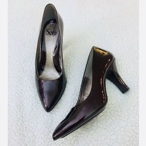 Sofft Patent Leather Heels Size 7